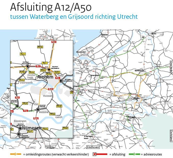 Afsluiting A12/A50